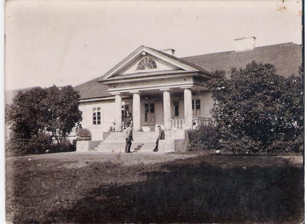 Bokszyszki.  Dwór, 18-19 w, ca 1935,Bialorus