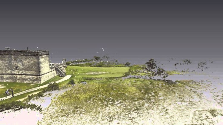 The National Park Service and University of South Florida Alliance for Integrated Spatial Technologies are working on the documentation of Fort Matanzas utilizing terrestrial laser scanning (TLS) survey and other spatial mapping and imaging techniques.