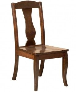 Amish Tablesu0027 Austin Dining Chair Is Made Of American Hardwoods. Many  Dining Room Chair Styles With Wood Or Upholstered Seats.