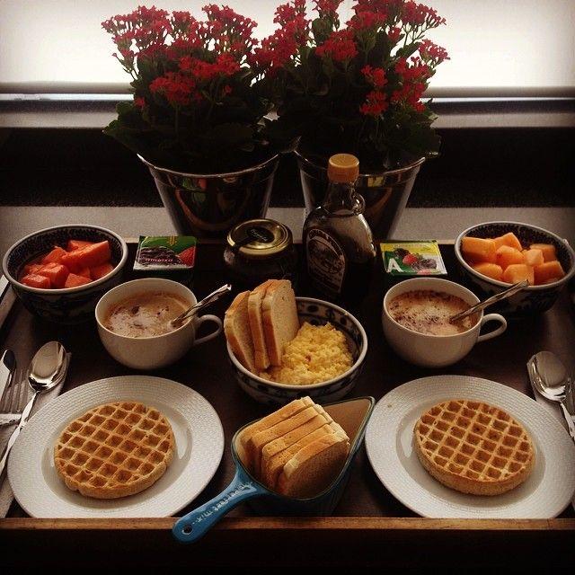 Cafe na cama breakfast in bed pinterest brunch
