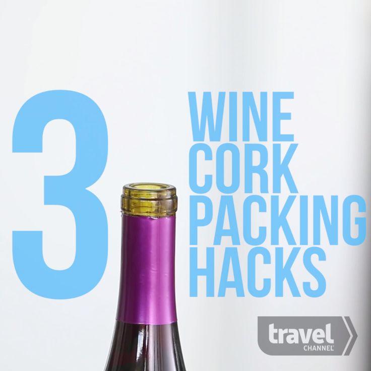 3 Wine Cork Packing Hacks