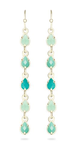 McCall Long Earrings - Customizable at the Color Bar™ by Kendra Scott.