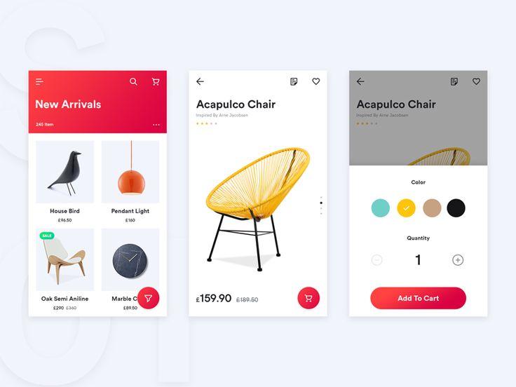 Shop App by Enes Dal #Design Popular #Dribbble #shots