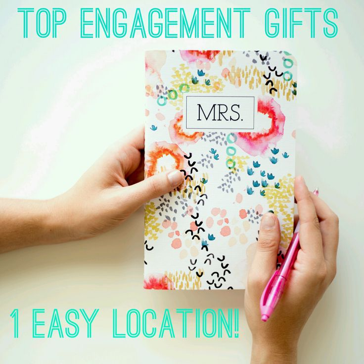 All the best engagement gifts in one place!! Perfect for a friend, fiancée , daughter, sister, or even yourself!