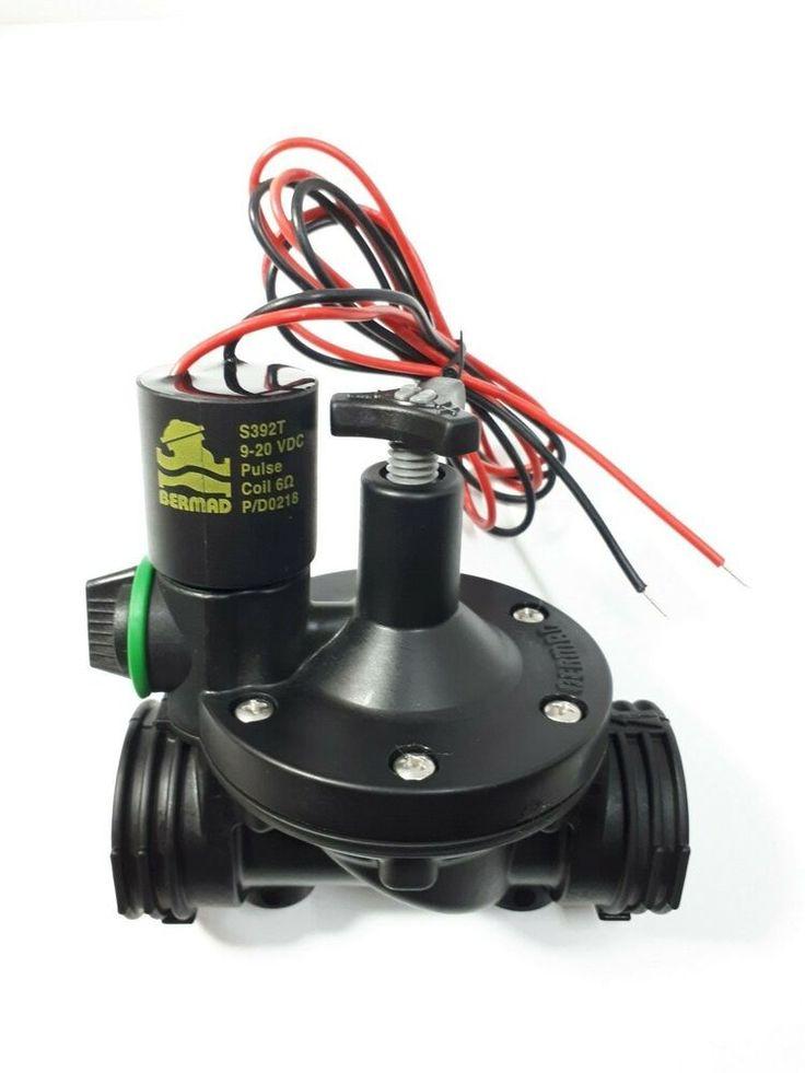 Bermad hydraulic solenoid controlled valve 34 npt 2w dc