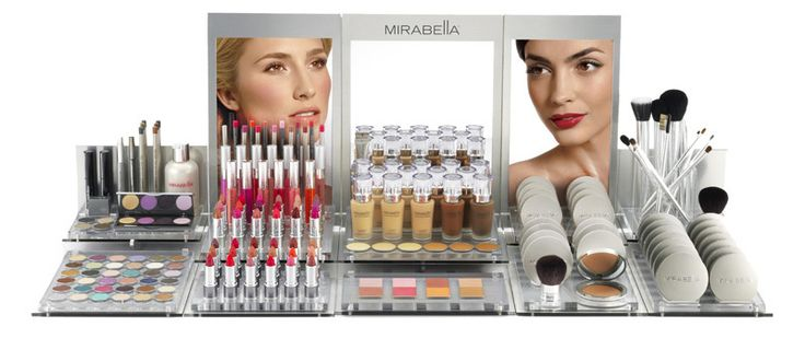 This is our Mirabella makeup display :) So gorgeous~