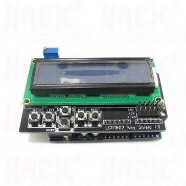 16x2 LCD Keypad shield for Arduino