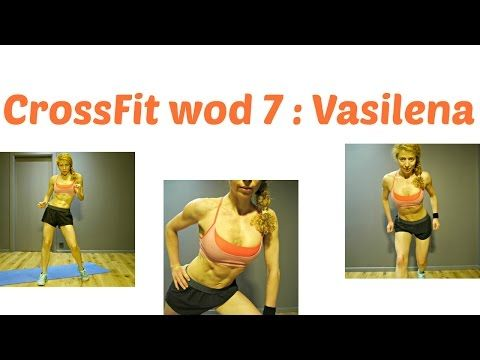 VASILENA WOD 7 : CrossFit Challenge: Thigh and Booty Torture, Full Body Workout - YouTube