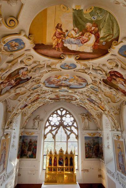 Chapel ,Bojnice Castle - Slovakia.travel