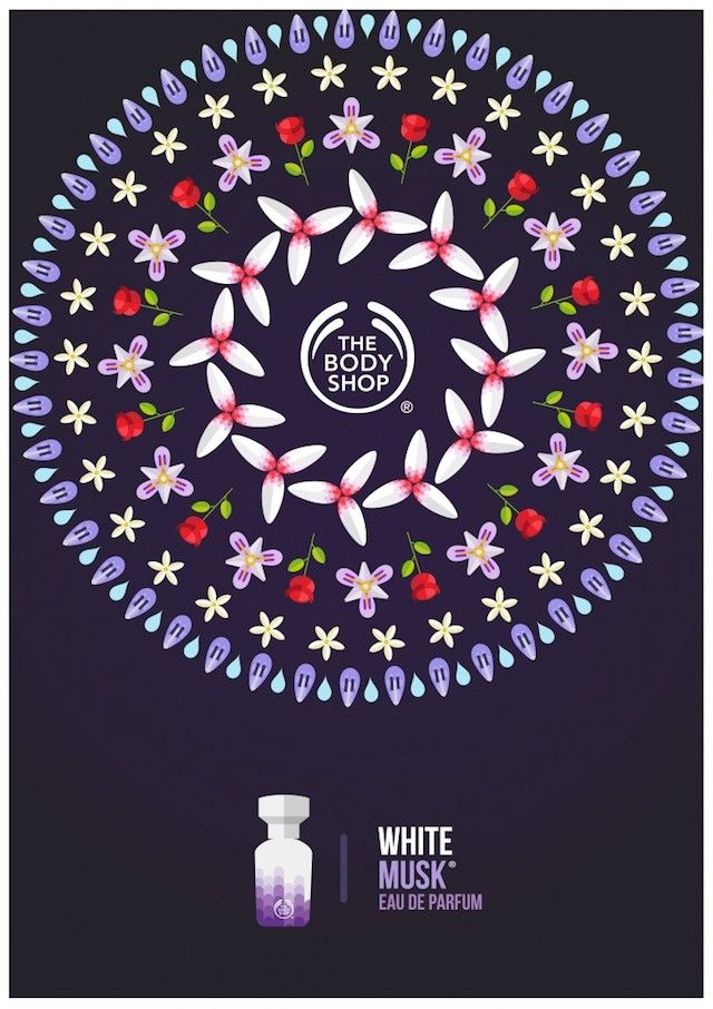 Tropical Posters for Body Shop Campaign - by L'illustrateur Tom Anders Watkins