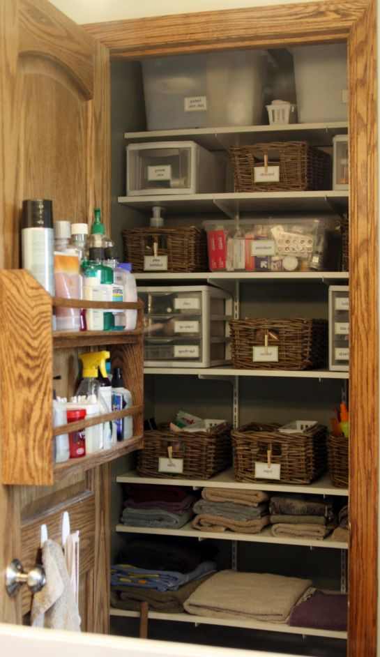 Great Organized Closet. #organize Amazing Ideas