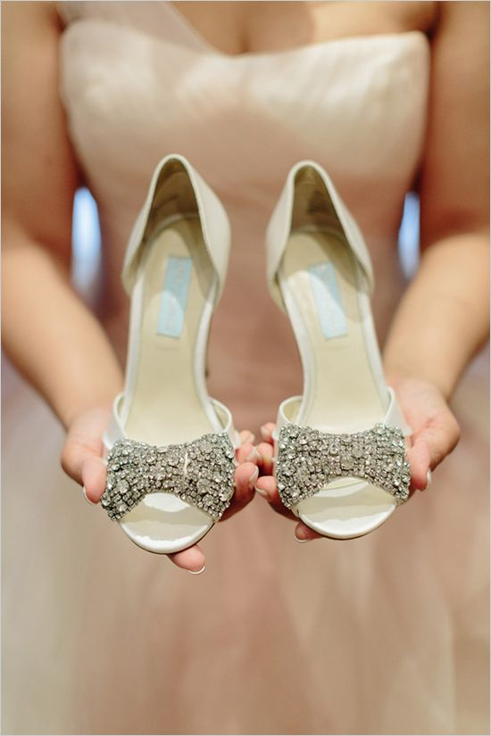 Betsey Johnson | sparkly wedding heels | vow renewal | French wedding ideas | #weddingchicks