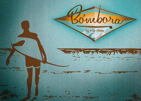 Imagen corporativa Bombora Surf Café by Ignota Design®
