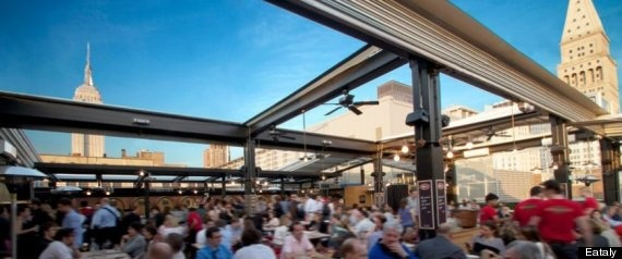 Best Outdoor Dining & Drinking Places In NYC