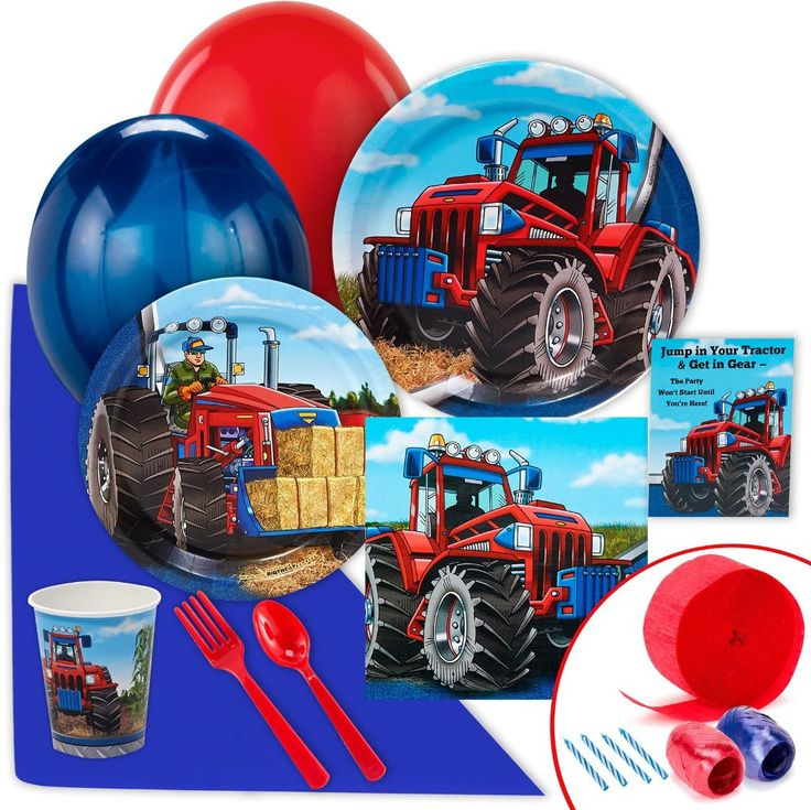 farm tractor value party pack