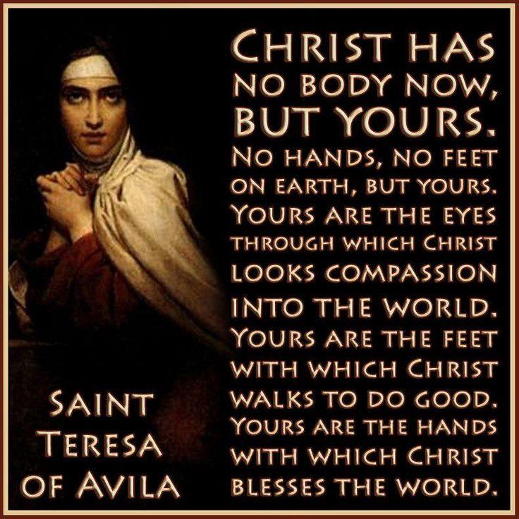 st+teresa+of+avila | St. Teresa of Avila Quote