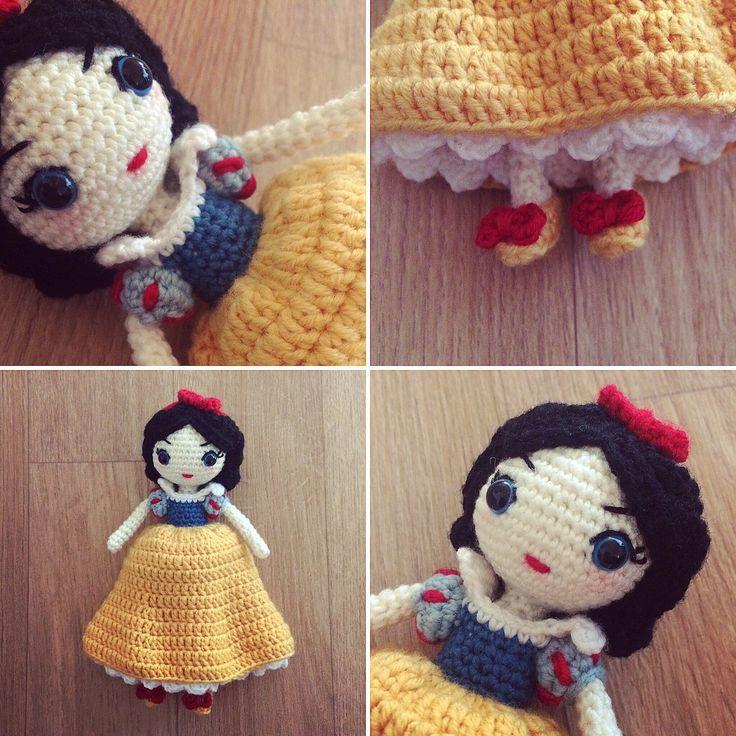 Crochet Amigurumi Blogs : Best 25+ Snow white doll ideas on Pinterest