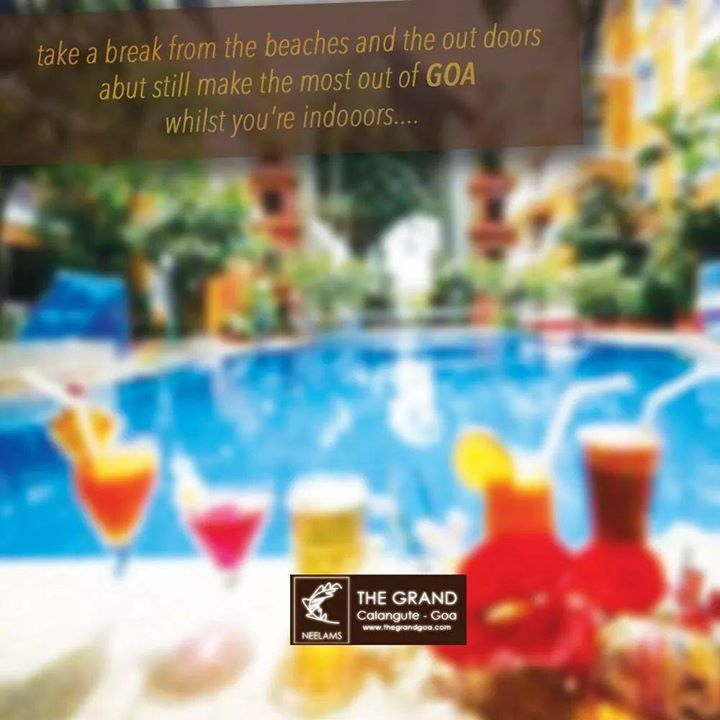 Relax sundays with exotic brunch at Neelam's The Grand. #sunday #brunch #goa