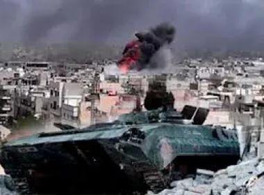 (Гл 9) В сирийской провинции Алеппо идут ожесточенные бои