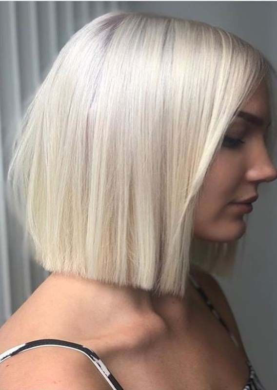 33 Stunning Blunt Blonde Bob Haircuts For Every Woman In