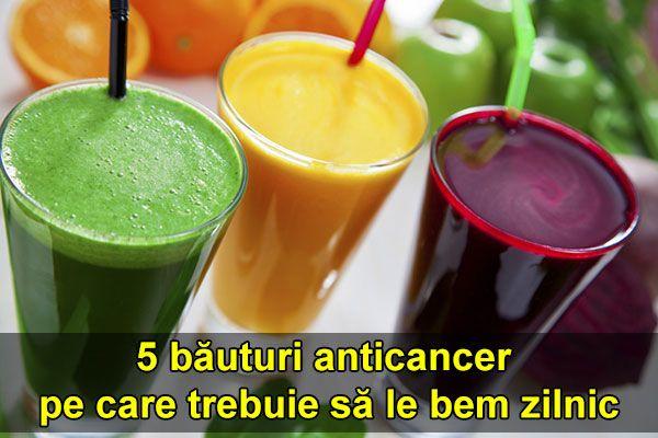 5 băuturi anticancer pe care trebuie să le bem zilnic