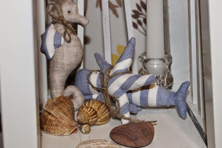 Чумадан чудес: Море жители - (подарок к 8 марта № 2)!!! море,морской декор, морские жители, тильда