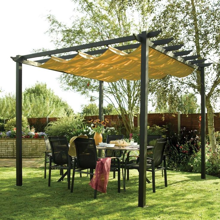 Swedish Cabin With Roof Top Garden And Retractable Outdoor: 1000+ Ideas About Retractable Pergola On Pinterest