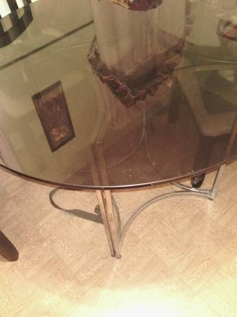 Glass Table - $40