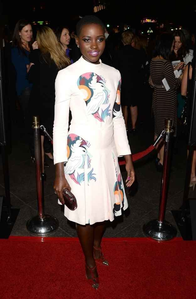 """But you should also know her as YOUR NEW FASHION IDOL AND A GODDESS WALKING AMONGST US.   Why """"12 Years A Slave"""" Star Lupita Nyong'o Should Be Your New Fashion Idol"""