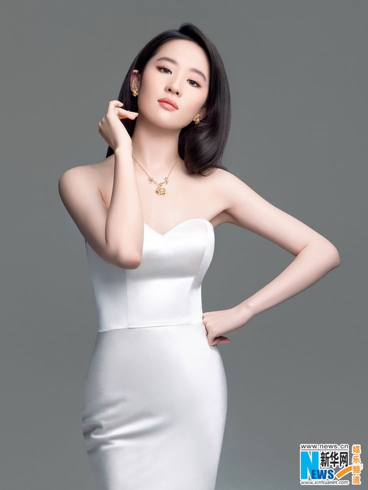 Chinese actress Liu Yifei