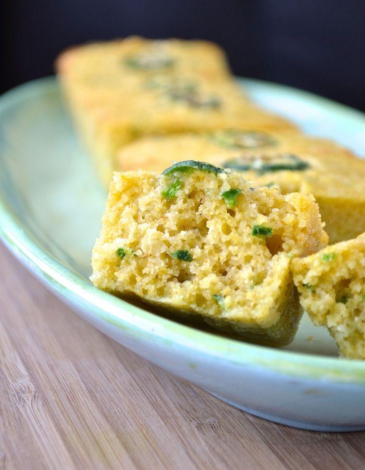 Cornbread (pain de maïs) au jalapeno