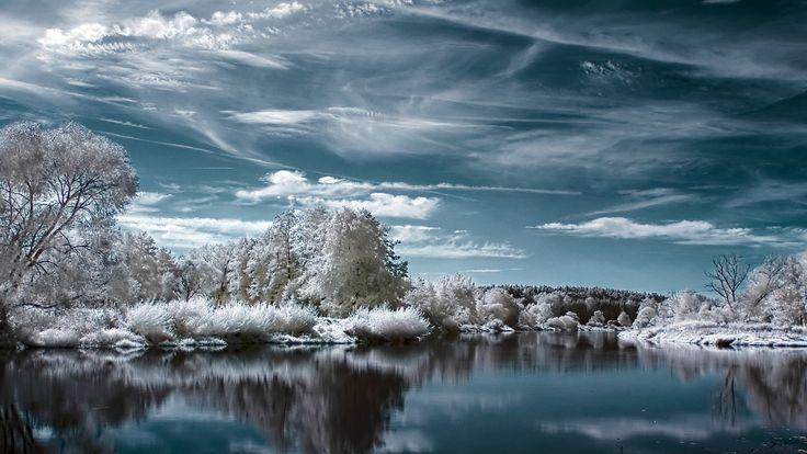 winter screensavers backgrounds (Thelma Jones 2560x1440)