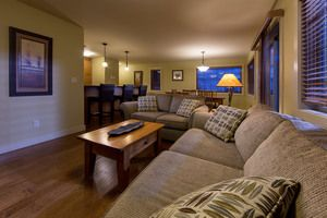 Cozy family accommodations at The Aspens by Kicking Horse Lodging
