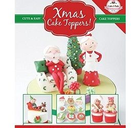 Christmas Cake Toppers by The Cake and Bake Academy