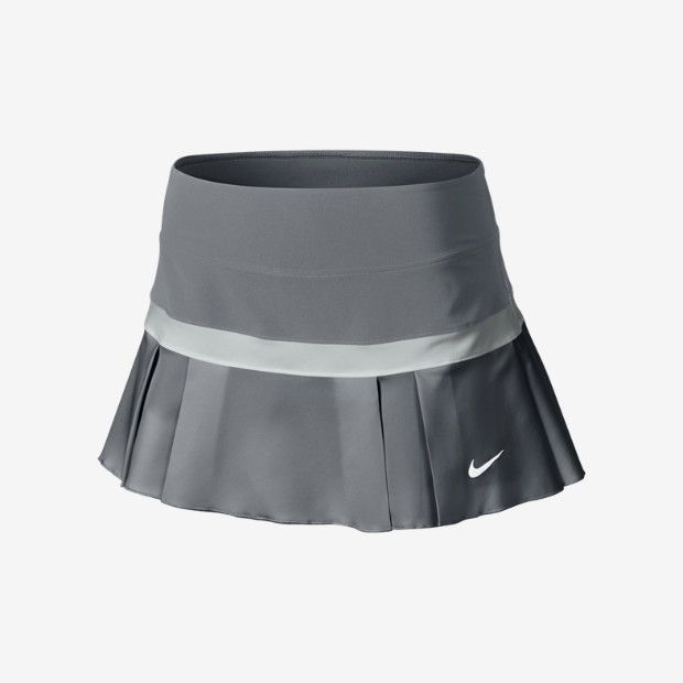 "Nike Woven Pleated Women's Tennis Skort. I prefer shorts or short skirts (""skorts"") like this one. #tennis #skort"