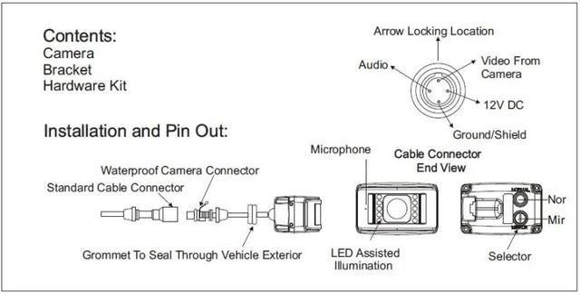 atemberaubend voyager backup camera schaltplan zeitgen ssisch rh infomains info Voyager Backup Camera System Double Voyager RV Backup Camera