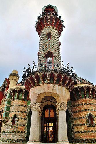 El Capricho de Gaudí,El Capricho de Comillas (Villa Quijano). Barrio de Sobrellano, s/n. Comillas. Cantabria Spain