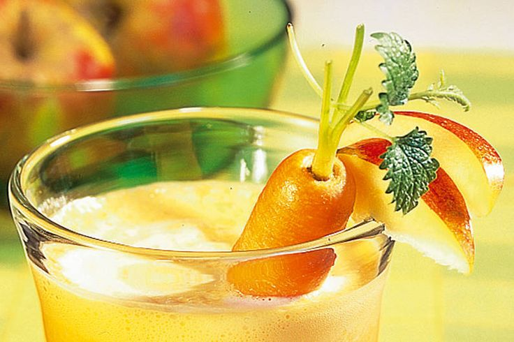 Möhren Drink #gesundesfrühstück #Betakarotin #VitaminC #Niacin #Karotten #Smoothie #CleanEating