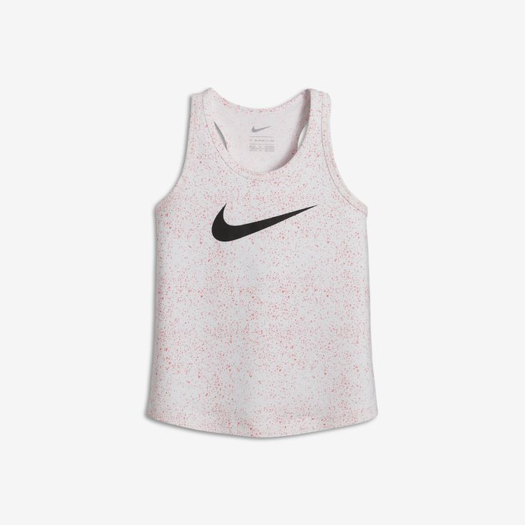 Nike Blacktop Infant/Toddler Girls' Tank Size 2T (White)