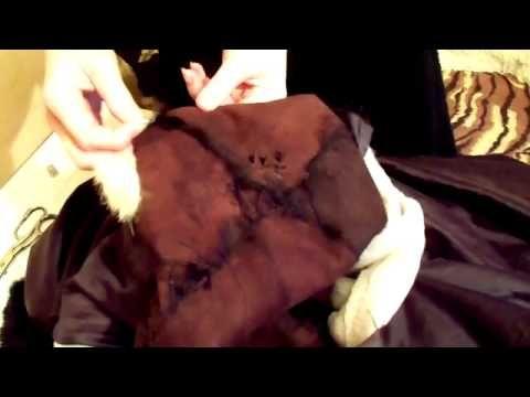 ▶ Как отремонтировать шубу, How to Repair a Fur Coat - YouTube