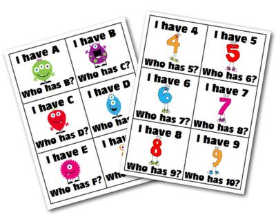 FREE monster-themed downloads!  Mrs. Lirette's Learning Detectives: Hip Hip Hooray! 15 Days of K! - Day 8