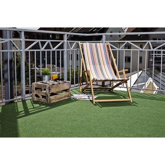 Kunstrasen-Matte Field mit Noppen Grün 133 cm x 400 cm kaufen bei OBI
