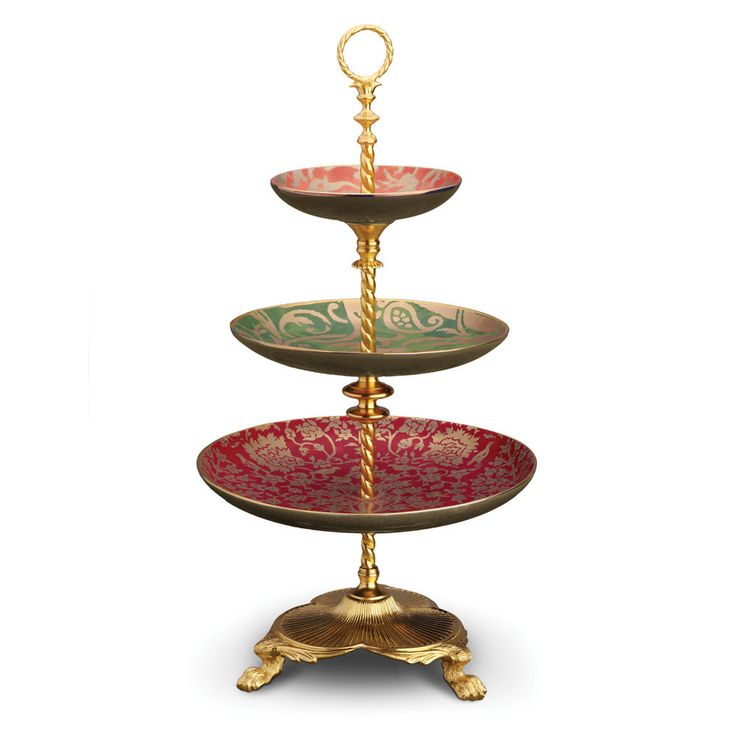 Discover the L'Objet Fortuny 3 Tier Server - Assorted at Amara