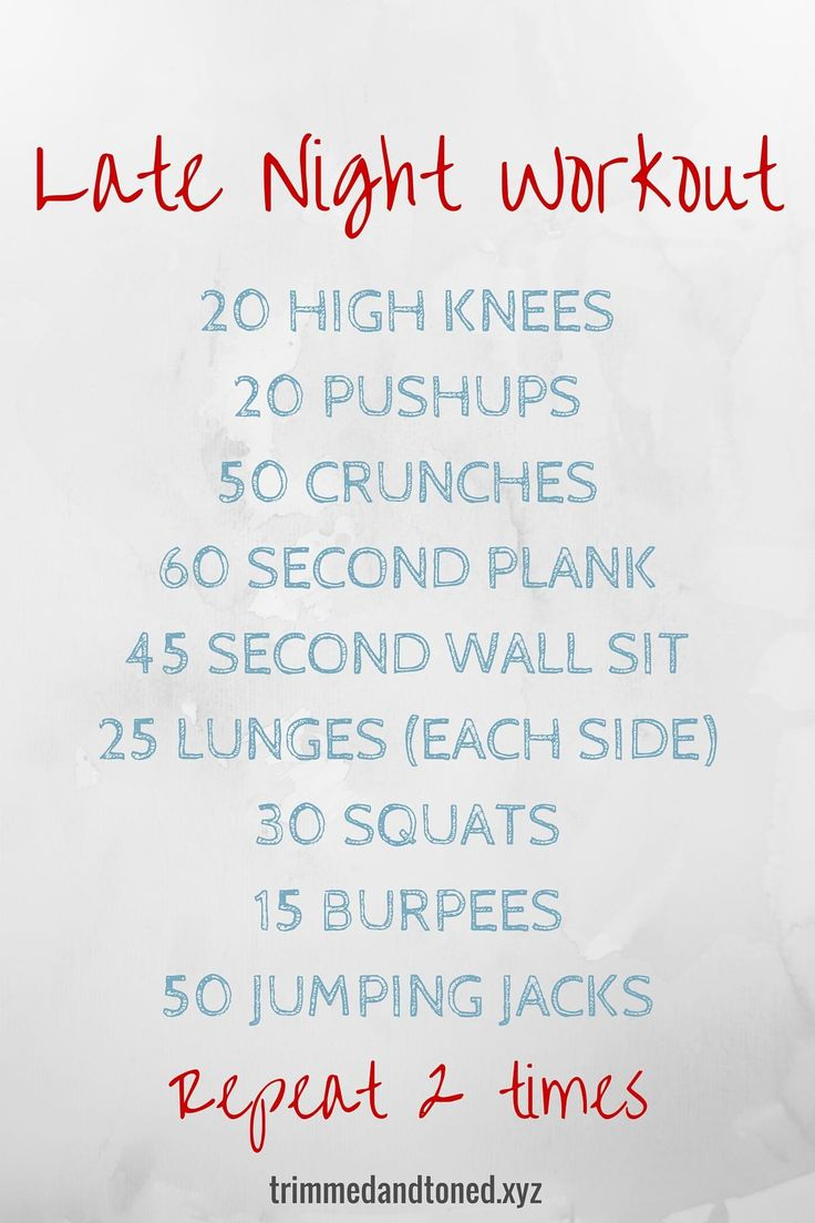Easy at home workout for those nights you just need to get some activity in. #fitness #health #workout