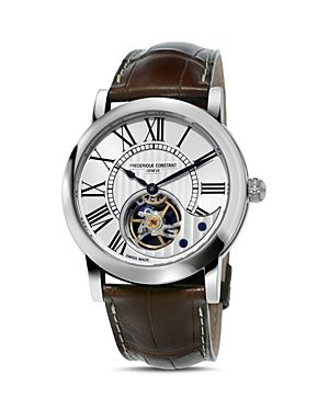 Frederique Constant Heart Beat Men Watch @Majordor. Stainless steel case,genuine alligator strap, sapphire crystal window, Automatic movement. Find out more