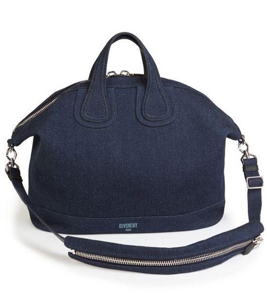 Givenchy Denim Nightingale Satchel Blue            $239.00
