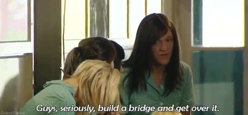 Conflict resolution is key. | 23 Steps For Succeeding In Life, As Told By Ja'mie King