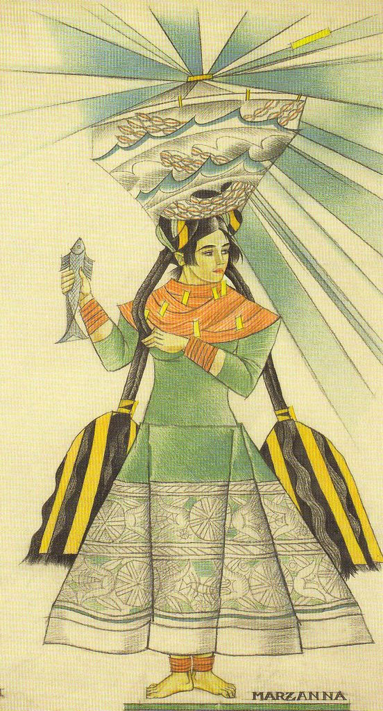 Zofia Stryjeńska (1891 - 1976) - Polish painter, graphic designer, illustrator, stage designer, a representative of art deco.