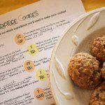 Scripture Cookies (with free printable recipe)