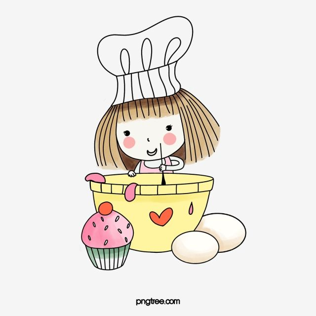 Chef Chef Clipart Hand Painted Cook Bakers Png Transparent Clipart Image And Psd File For Free Download Sticker Design Calligraphy Tutorial Cute Icons